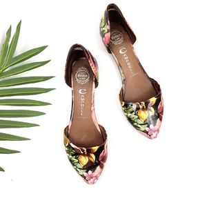 Jeffery Cambell In-Love Floral Flats Casual SZ 8.5